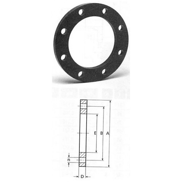 Backing ring D110