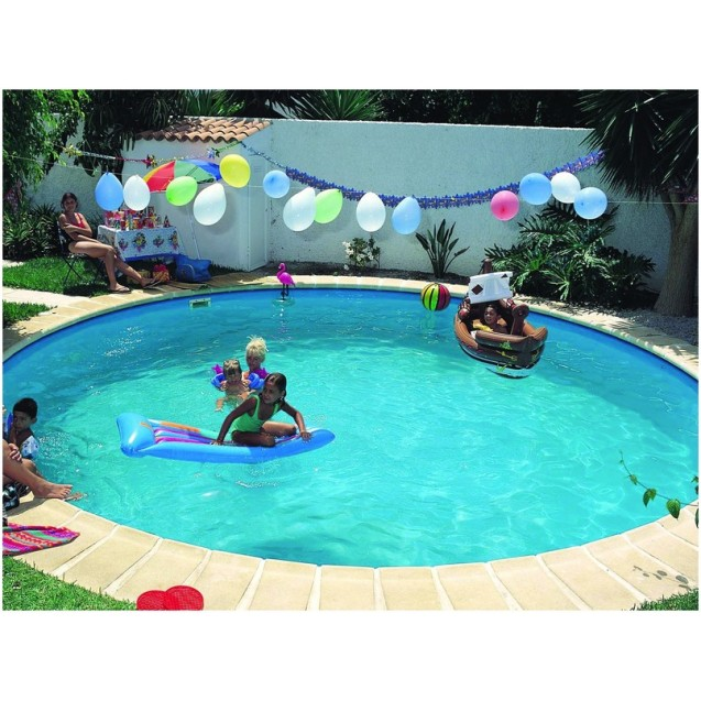 Future Pool metal wall pools with liner, round D600x150