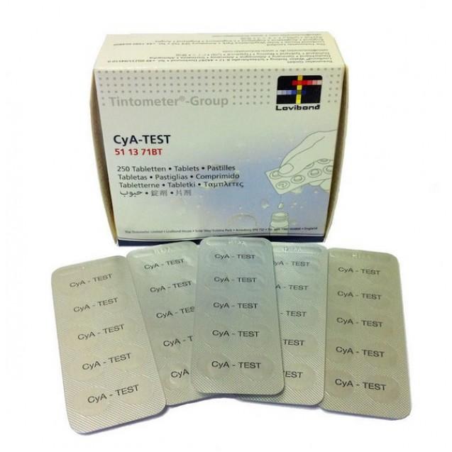 Cyanuracid measure tablets 10pc/leaf