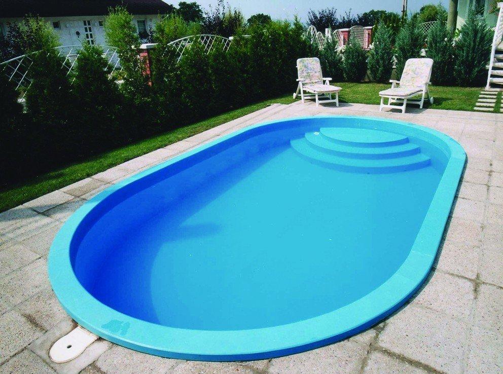 Polypropylene plastic pools