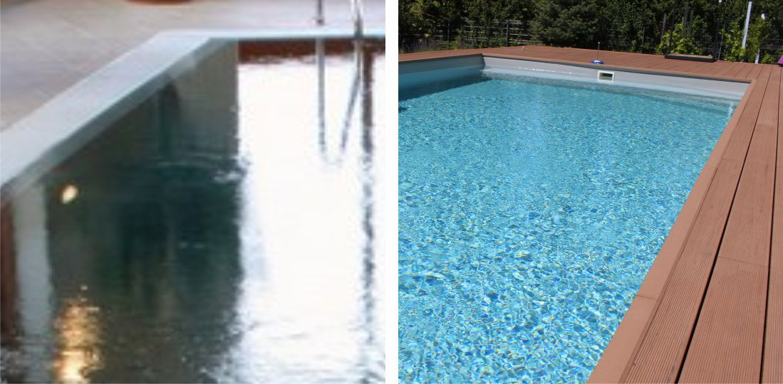 Weighted vs. stretched water surface