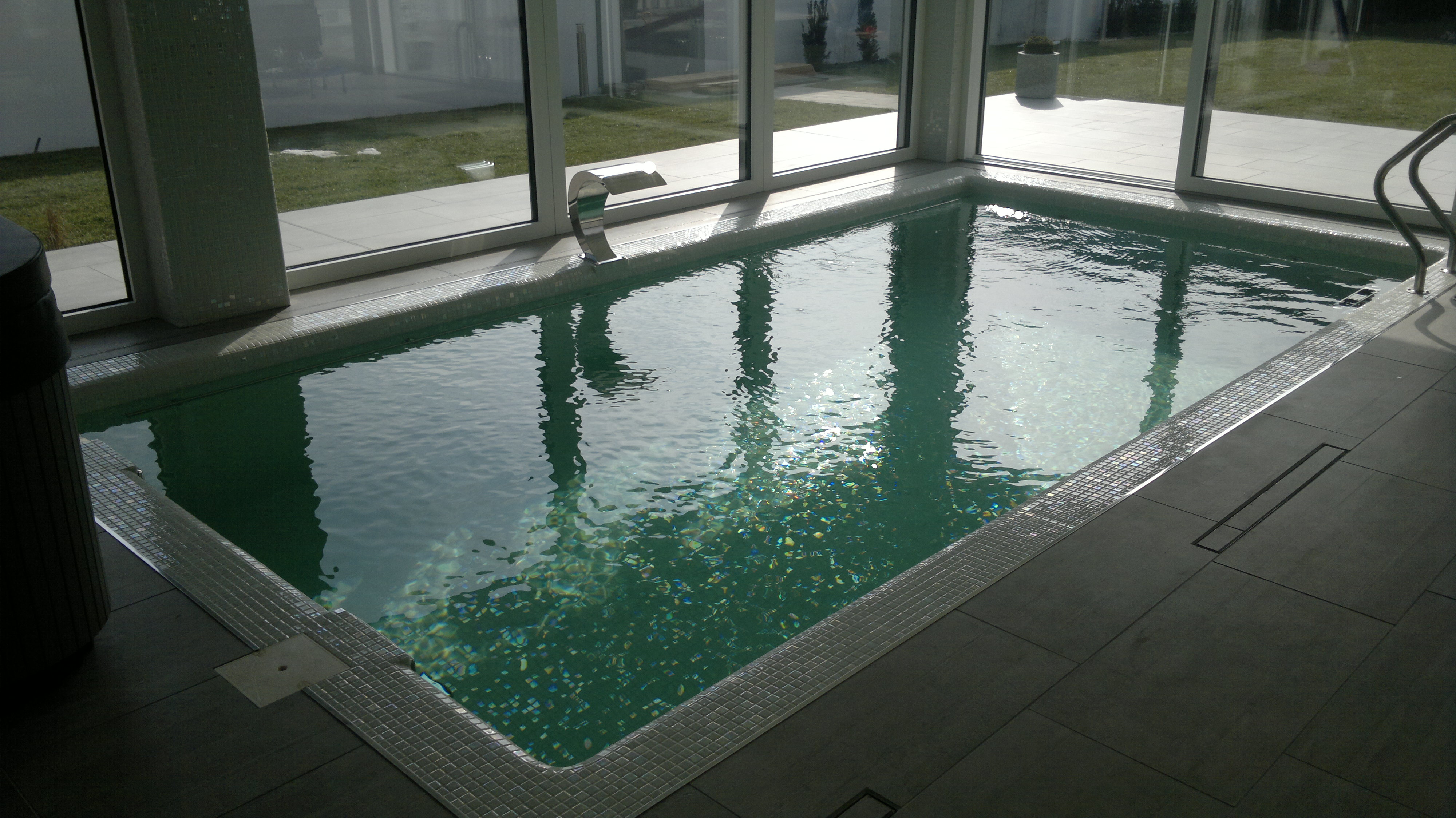 Dehumidification for indoor pools