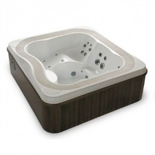 Portable spas with overflow system (1)