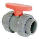PVC ball valves 90mm