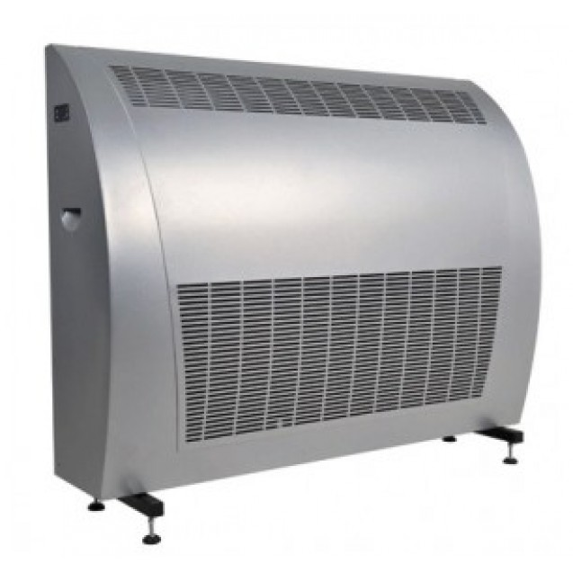 Swimming pool dehumidifier, 120 l/day, metal house with three-ply anticorrosive coat